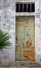 The Old Door - Galipolli Italy by Debbie Pinard