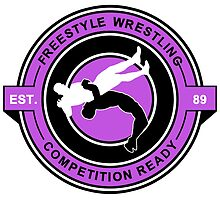 Freestyle Wrestling Competition Ready Suplex Purple  by yin888
