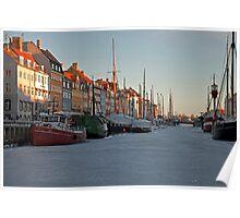 Winter in Copenhagen Poster