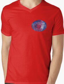TARDIS in space 02 Mens V-Neck T-Shirt