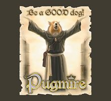 Pugmire: Sister Picassa Collie Womens Fitted T-Shirt