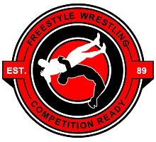 Freestyle Wrestling Competition Ready Suplex Red  by yin888