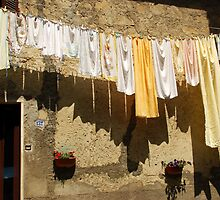 Hanging Out in Corchiano-Italy by Deborah Downes