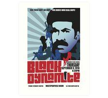 Black Dynamite Art Print
