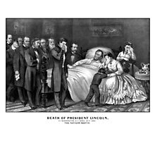Death Of President Lincoln by warishellstore