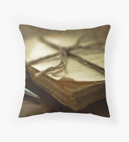 Writing Throw Pillow