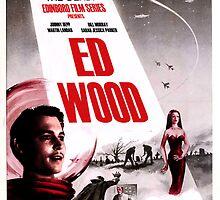 Ed Wood Poster by TrishaSwindell