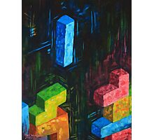 Tetris Tribute Photographic Print