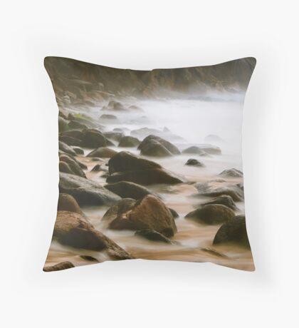 Smoothing Rocks Throw Pillow