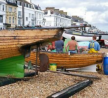 Deal fishing boats by Woodie