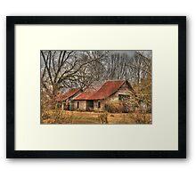 Barn on Hwy 63 Homer GA Framed Print