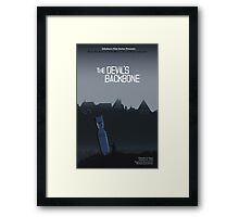 The Devil's Backbone Framed Print