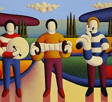 Five soft musicians by Alan Kenny