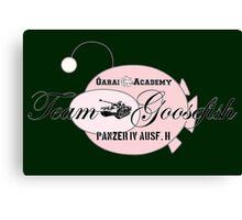 Team Goosefish Canvas Print