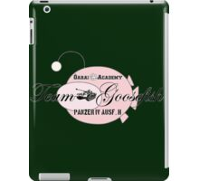 Team Goosefish iPad Case/Skin