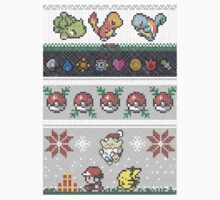 Cute Video Game Pixel Christmas Kids Clothes