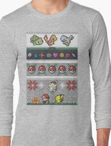 Cute Video Game Pixel Christmas T-Shirt