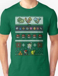 Pokemon Pixel Christmas Jumper T-Shirt
