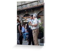 peoplescapes #248, that way  Greeting Card