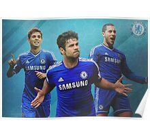 Chelsea Soccer Poster Design Poster