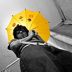 Yellow Umbrella by TrishaSwindell