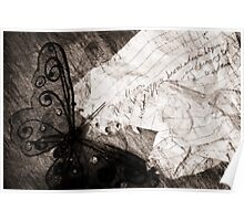 If Words Were Butterfly Wings Poster
