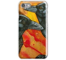 One for Sorrow, Two for Joy iPhone Case/Skin