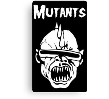 Mutants Fiend Club Canvas Print