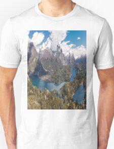 Panaroma San Carlos de Bariloche - Patagonia Unisex T-Shirt
