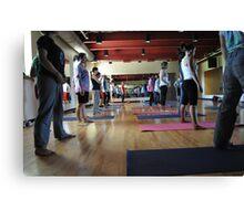Yoga #1 Canvas Print