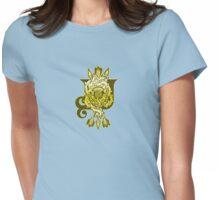 Awakening Path: Acanthus Womens Fitted T-Shirt