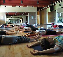 Yoga #5 by TrishaSwindell