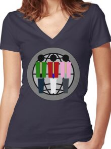 Lupin The Third... Man Women's Fitted V-Neck T-Shirt