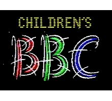 Children's BBC 1985 Photographic Print