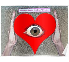 Be my Valentine. Poster