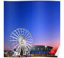 Echo Wheel of Liverpool Poster
