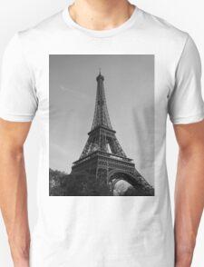 Eiffel Tower Black & White (Paris) Unisex T-Shirt