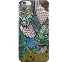 Two Blue Koi iPhone Case/Skin