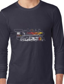 The Flame Train Long Sleeve T-Shirt