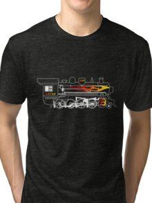 The Flame Train Tri-blend T-Shirt