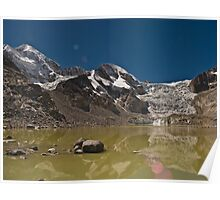 Reflecting Glacier Poster