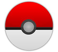 Pokeball Pokemon Photographic Print