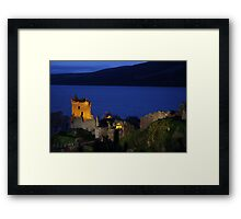 Dusk at Urquhart Castle Framed Print