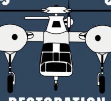Sikorsky S-60 Restoration Sticker