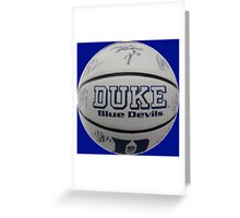 Ball Duke Greeting Card