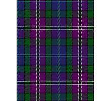 00334 South Lanarkshire District Tartan Photographic Print