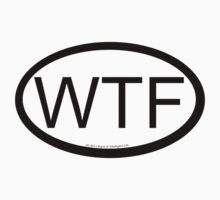 WTF location sticker by SOIL