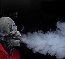 Skull Smoke by Craig DeRuyter