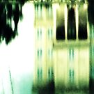 Lake Reflections (Templeton, Library near Sewanee, TN) by Charldia