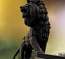 The Maiwand Lion, Reading, UK by buttonpresser